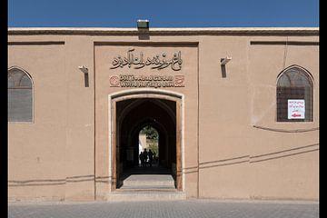 Iran: Dowlat Abad Garden (Yazd) van Maarten Verhees