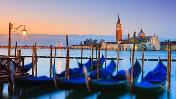 Sonnenaufgang Markusplatz, Venedig, Italien