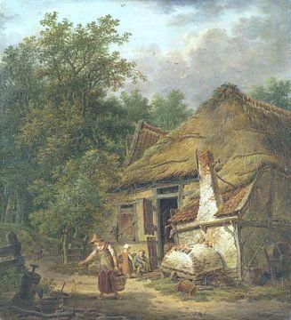 Bauernhaus bei Helvoirt, Pieter Pietersz. Barbiers