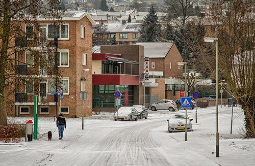 Dr, Ottenstraat Simpelveld in de sneeuw