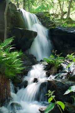 Wasserfall in Südfrankreich von