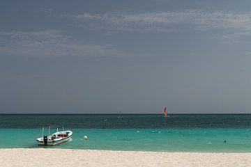 Strand in Cuba. von