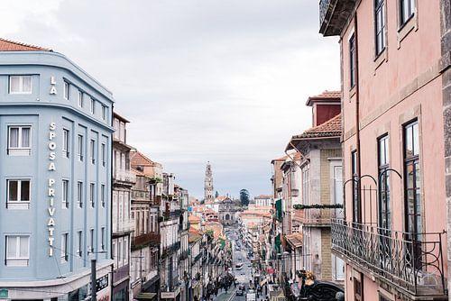 Uitzicht op de stad Porto