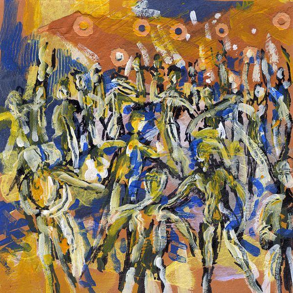People Party Dance van ART Eva Maria