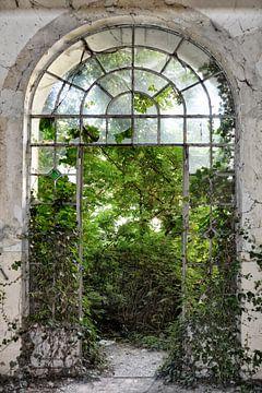 das Fenster zum Garten von Joachim G. Pinkawa