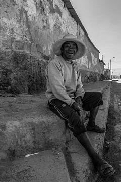 Portret, oude man. Old men van Marlou van Hal