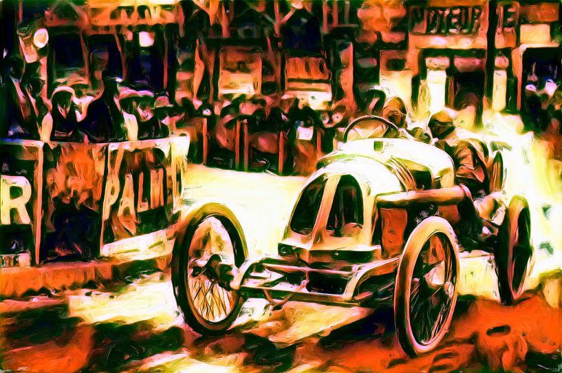 René Thomas - Der Große Preis von Frankreich 1913 von Jean-Louis Glineur alias DeVerviers
