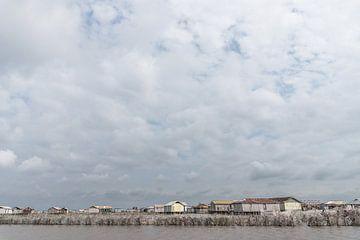 Segeln entlang von Stelzenhäusern in Westafrika | Benin von Photolovers reisfotografie