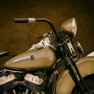 De Vintage Harley Liberator van Martin Bergsma