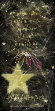 Alle sterren hebben bloemen .... van Christine Nöhmeier