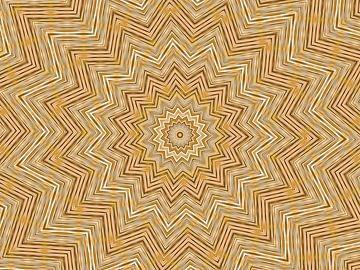 Stern in Beige (Stern in Beige) von Caroline Lichthart