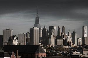 Stadtübersicht  Süd Manhattan    New York van