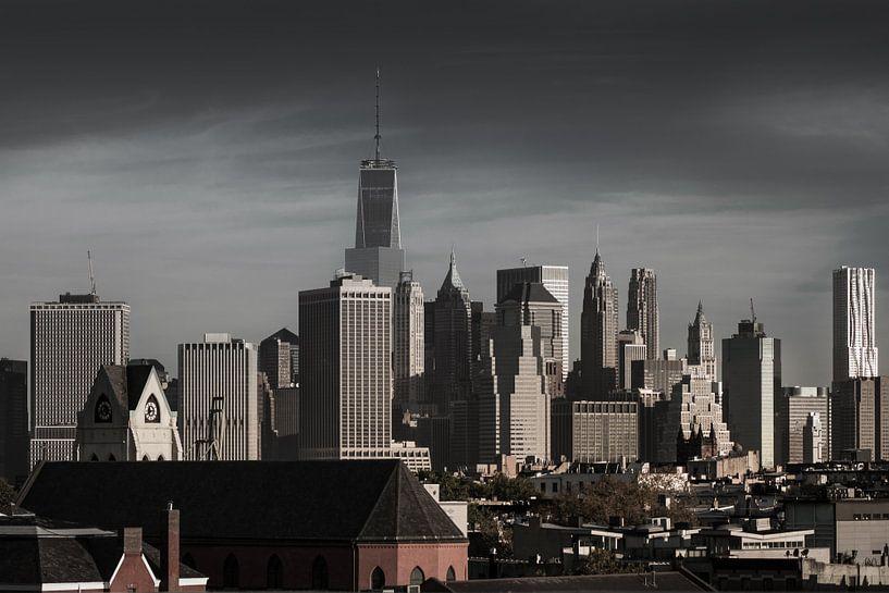 Stadtübersicht  Süd Manhattan    New York van Kurt Krause