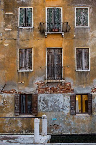 Venedig in orange von