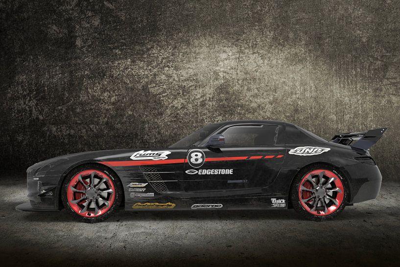 SPORT CAR BLACK van H.m. Soetens