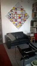 Klantfoto: Piet Mondriaan. Victory Boogie Woogie van 1000 Schilderijen