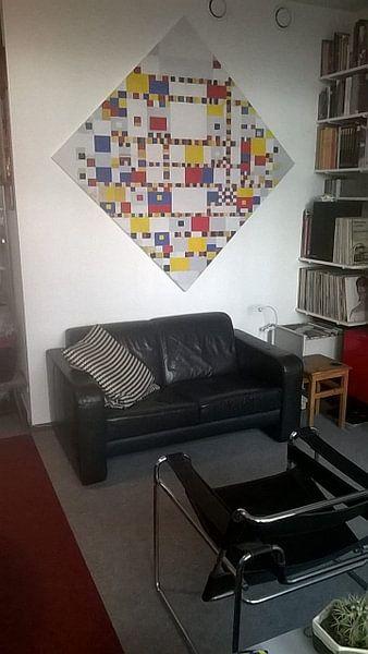 Photo de nos clients: Piet Mondriaan. Victory Boogie Woogie sur 1000 Schilderijen