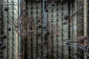 Caged  van