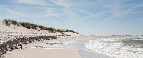 Verdiepje op het strand