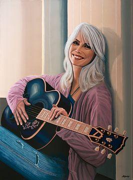 Emmylou Harris Schilderij van Paul Meijering