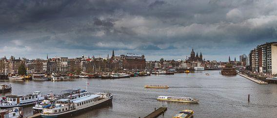 skyline van Amsterdam van Hamperium Photography