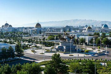 Ashgabat, hoofdstad van Turkmenistan van Joost Potma