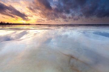 Spiegelend Schildmeer von Ron Buist