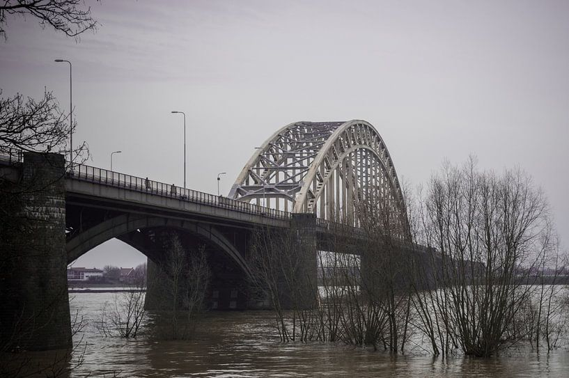 Waalbrug Nijmegen van Patrick Verhoef