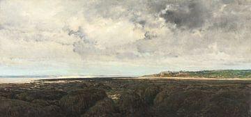 Villerville von Le Ratier aus gesehen, Charles François Daubigny