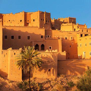 Kasbah Taourirt bei Sonnenuntergang, Ouarzazate,  Marokko, von Markus Lange