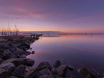 Zonsopkomst Pier+ Horizon van Dennie Jolink