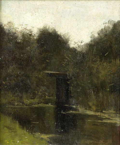 Teichecke bei Breukelen, Richard Nicolaüs Roland Holst von Marieke de Koning