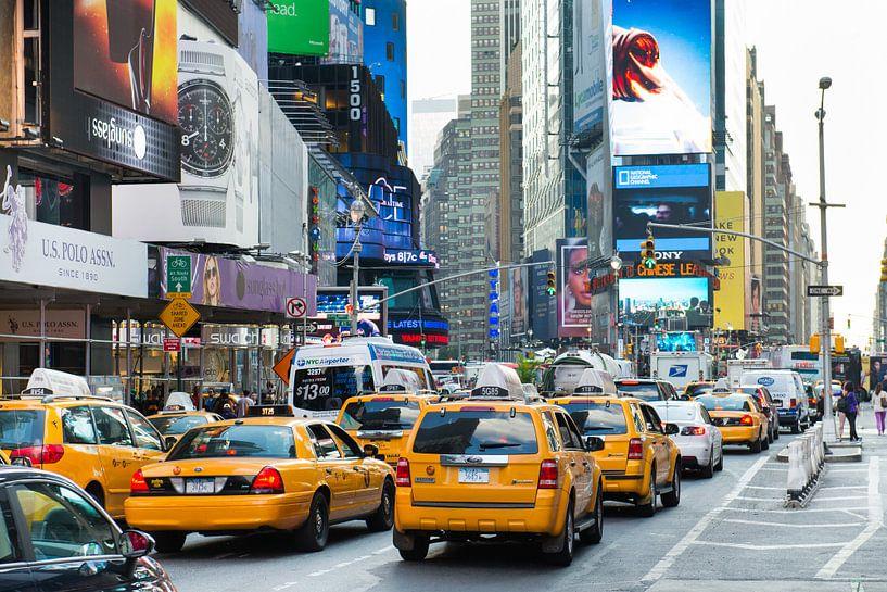 Times Square, New York van Johan van Venrooy