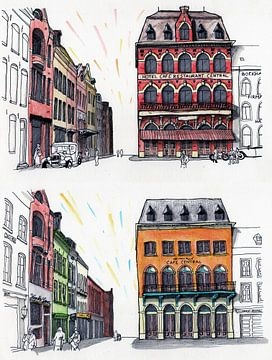 Venlo Centrum, Café Central 1920-2020 van BFQ