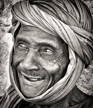 Blinder Malier von Ton Bijvank