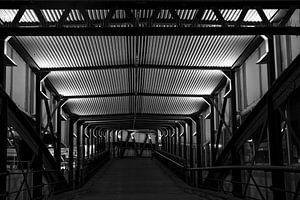 Überseebrücke in Hamburg van