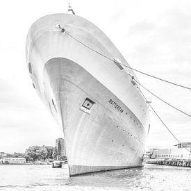 Voorsteven SS .Rotterdam sur John Kreukniet