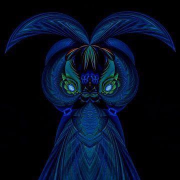 Phantasievolle abstrakte Twirl-Illustration 131/16 von PICTURES MAKE MOMENTS
