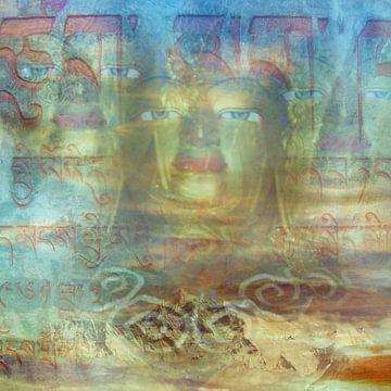 Gouden Hoofd van Boedha van Hiske Kamminga