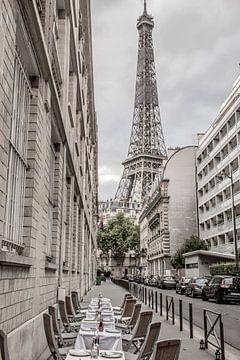 La Tour Eiffel à Paris sur Bianca Kramer