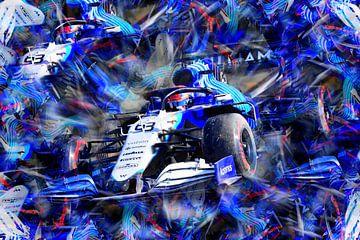 George Russell - Team Williams 2021 van DeVerviers