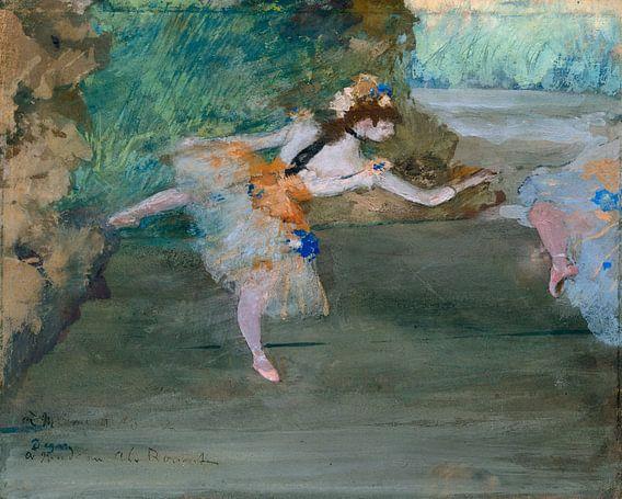 Dancer podium, Edgar Degas van Meesterlijcke Meesters