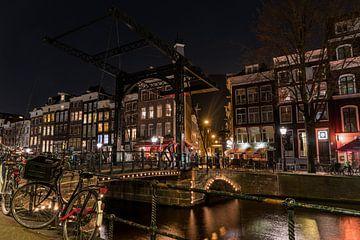 Zugbrücke Amsterdam von Ivo de Rooij