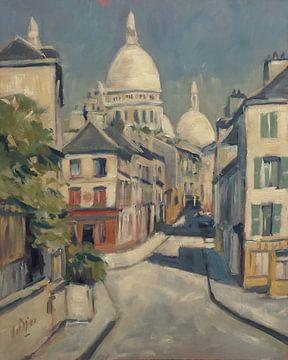 Zonnig Montmartre