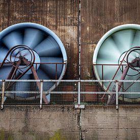 Grote ventilators van Albert Mendelewski