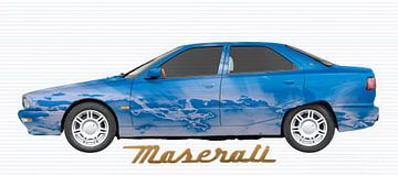 Maserati Quattroporte IV Kunstauto van aRi F. Huber