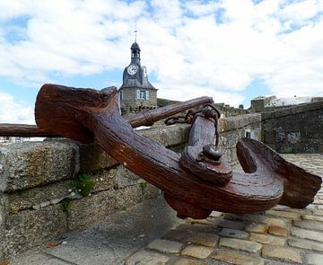 Roestig Anker in Bretagne