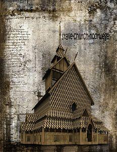 stave-church-noorwege