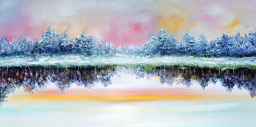 Double landscape van Gena Theheartofart