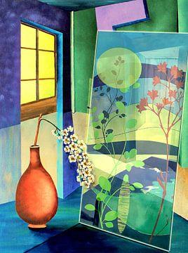 Reflexion im Raum van Gertrud Scheffler